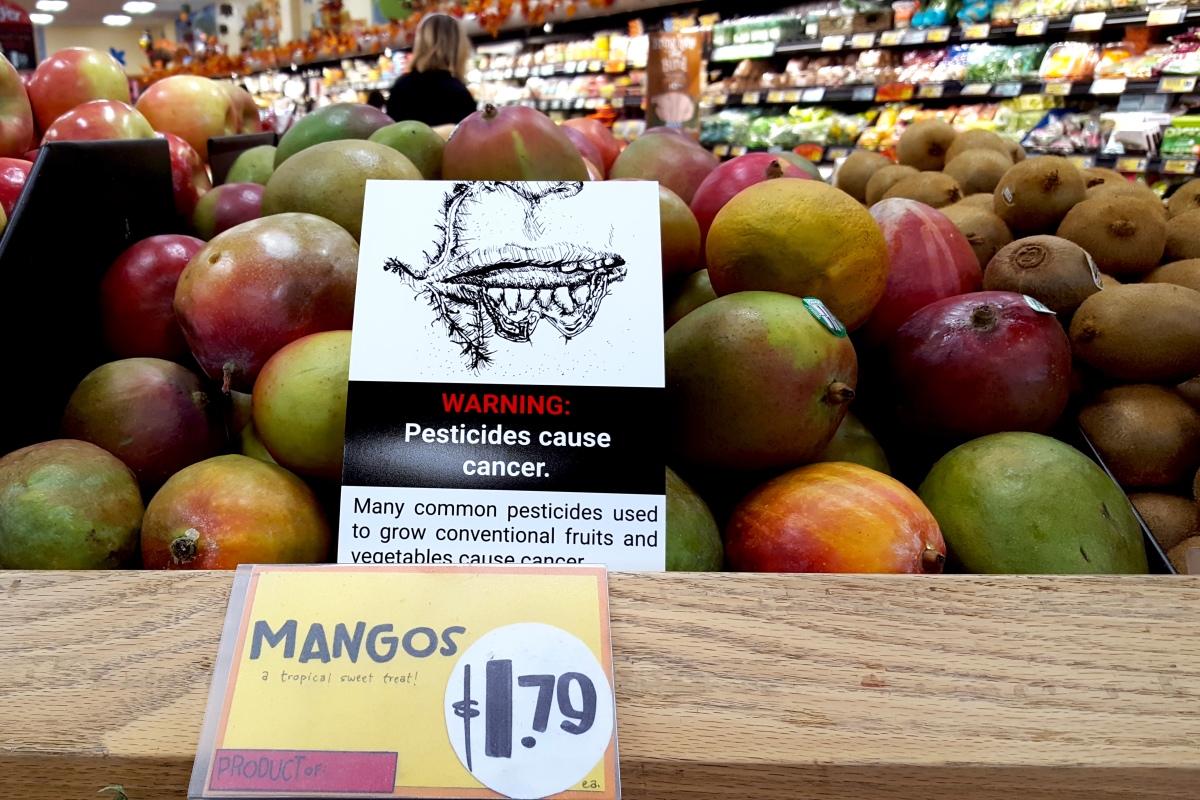 pesticide ad placement