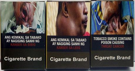Philippines cigarette labels