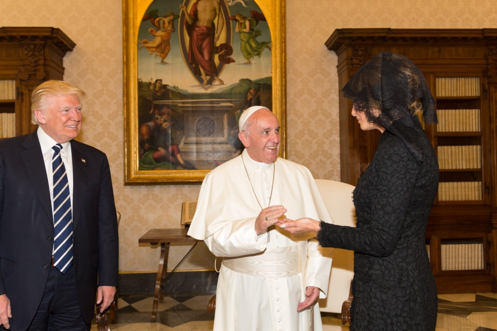 Pope Francis and Trump